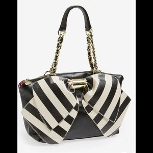 Betsey Johnson big bow purse